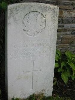 Private R G McDougall