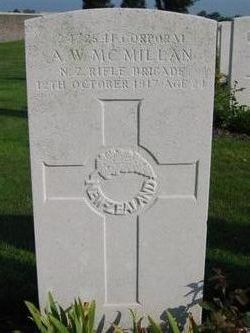 Corporal Alexander Watts McMillan