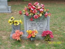 Carol Jean McPeak
