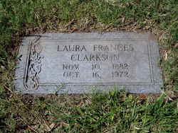 """Laura Francis """"Auda"""" Clarkson"""
