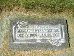 Margaret <I>Webb</I> Hoglund