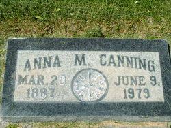 Anna C. <I>Magnuson</I> Canning