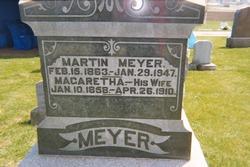 Margaretha <I>Gerken</I> Meyer