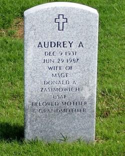 Audrey Ann <I>Boldt</I> Zasimowich
