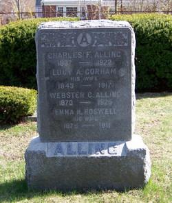 Lucy A. <I>Gorham</I> Alling