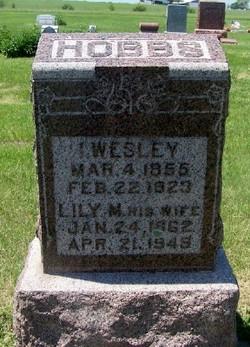 """Isaac Wesley """"Wes"""" Hobbs"""