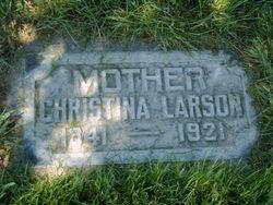 Christina <I>Pearson</I> Larson