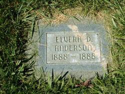 Elvera D Anderson