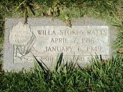 Willamine June <I>Stokes</I> Watts