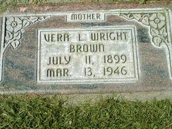 Vera Leona <I>Wright</I> Brown