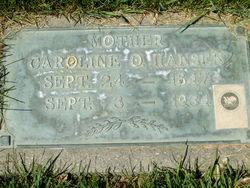 Caroline Catherine <I>Olson</I> Hansen