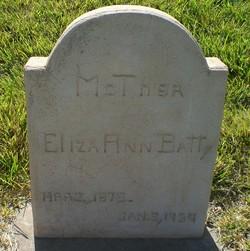 Eliza Ann Davis <I>Willis</I> Batty