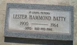 Lester Hammond Batty