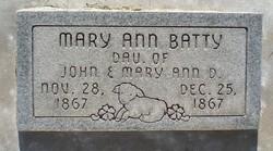 Mary Ann Encora Batty