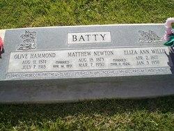 Matthew Newton Batty