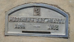 Matthew Raymond Batty