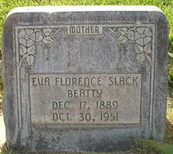 Eva Florence <I>Slack</I> Beatty