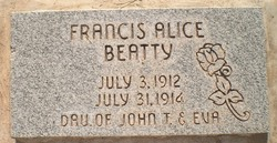Frances Alice Beatty