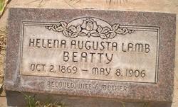 Helena Augusta <I>Lamb</I> Beatty