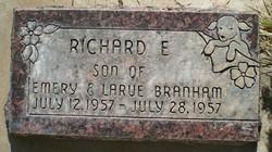 Richard E Branham