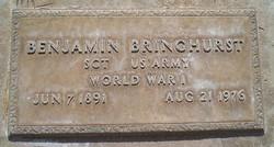 Benjamin Bringhurst