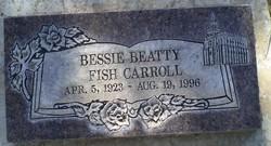 Bessie <I>Beatty</I> Carroll