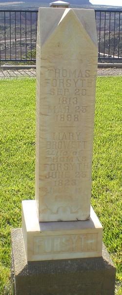 Mary <I>Browett</I> Forsyth