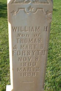 William Bowett Holmes Forsyth