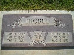 Emma Grace <I>Gates</I> Higbee