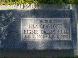 Lila Charlotte <I>Higbee</I> Hull