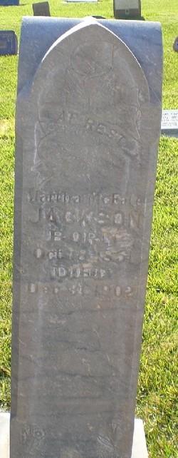 Martha Mcfate Jackson