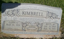 Betty Jo Kimbrell