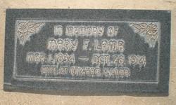 Mary Foster <I>Hardy</I> Lamb