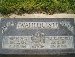 Charles Fredrick Wahlquist