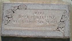 Rhea Belle <I>Higbee</I> Wakeling