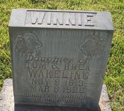 Winnie Higbee Wakeling