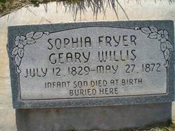 Sophia Fryer <I>Geary</I> Willis
