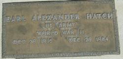Earl Alexander Hatch