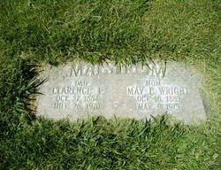 """Mary Elizabeth """"May"""" <I>Wright</I> Malstrom"""