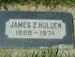 James Zebedee Holden