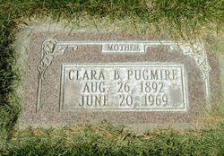 Clara Lzina <I>Barker</I> Pugmire