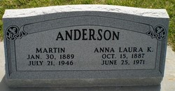 Anna Laura <I>Kleinman</I> Anderson