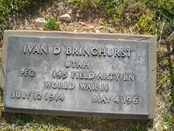 Ivan Dalton Bringhurst
