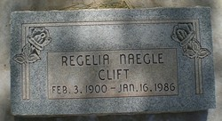Regelia <I>Naegle</I> Clift