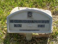 Jennie <I>Wallace</I> Dean