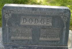 Sarah Ann <I>Batty</I> Dodge