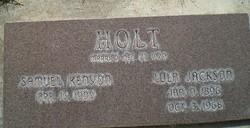 Lola Augusta <I>Jackson</I> Holt