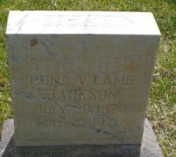 Luna Vilate <I>Lamb</I> Jackson