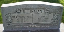 Fern Annona <I>Davis</I> Kleinman