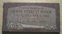 Verne Forrest Miner